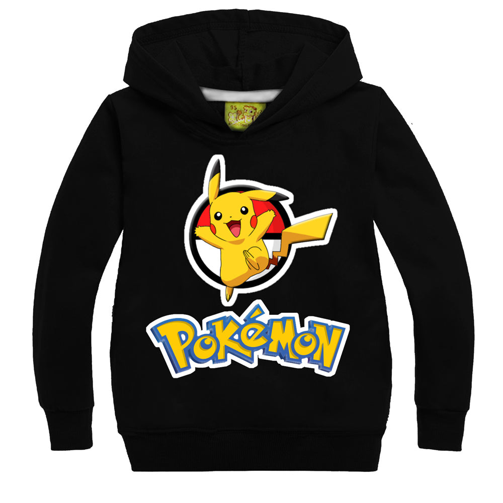Pokemon Pikachu Pullover For Kids