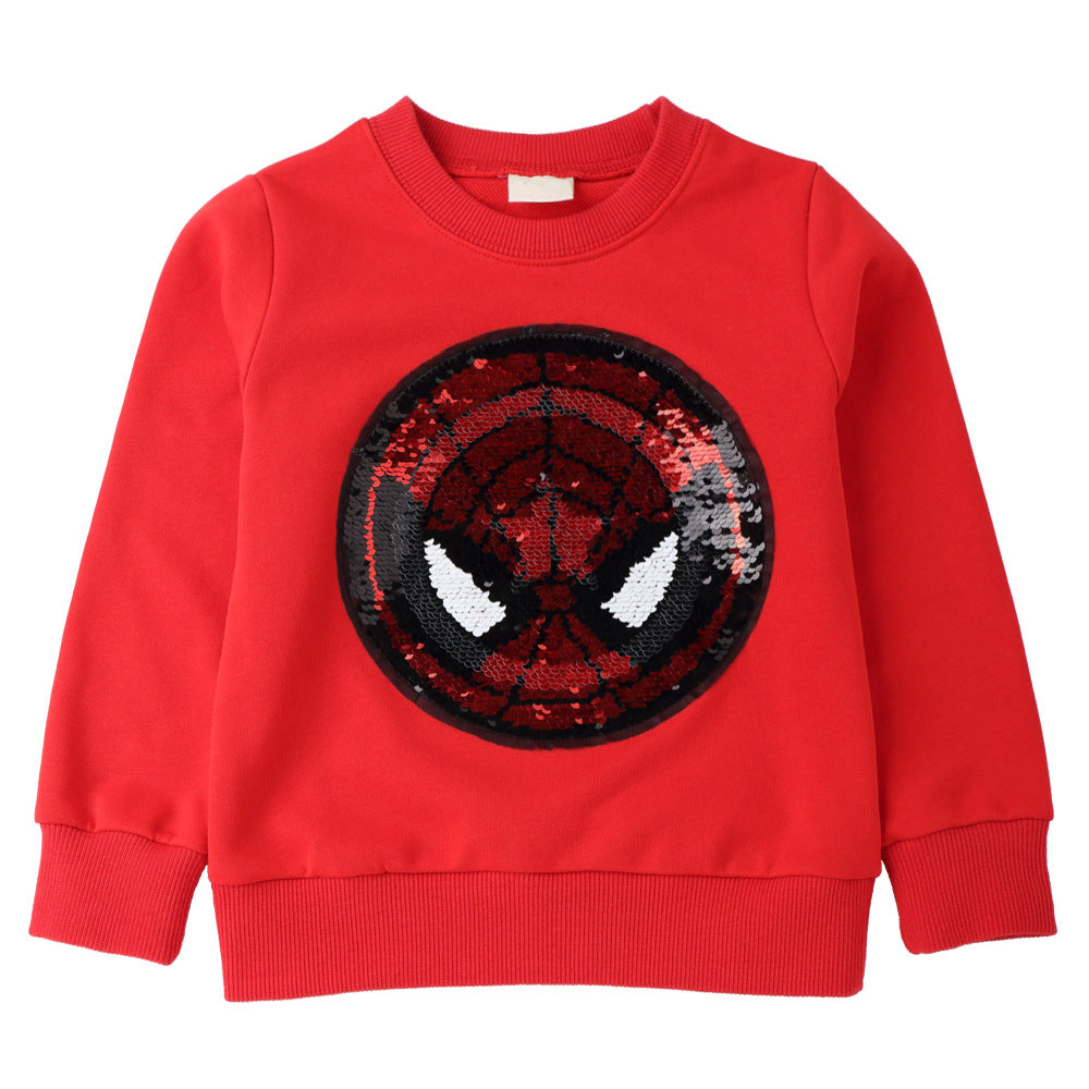 American Captain Spider-Man Changable Top For Kids