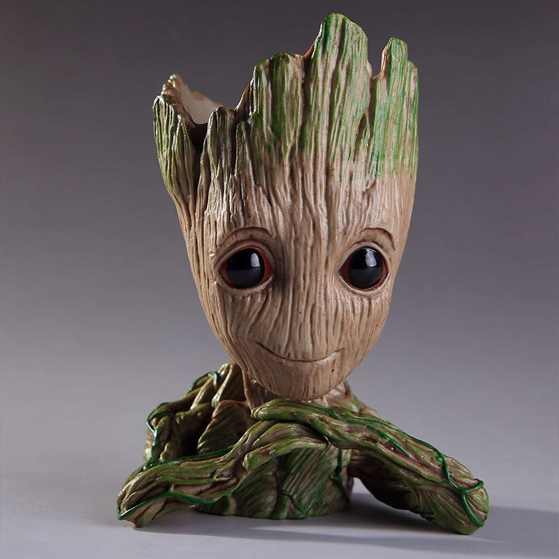 Galaxy Guardians Groot Flowerpot Tree man Decoration