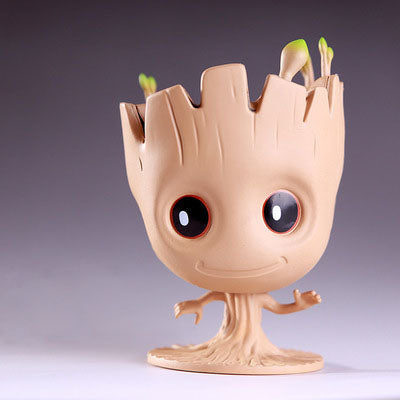Galaxy Guardians Groot Cute Flowerpot Decoration