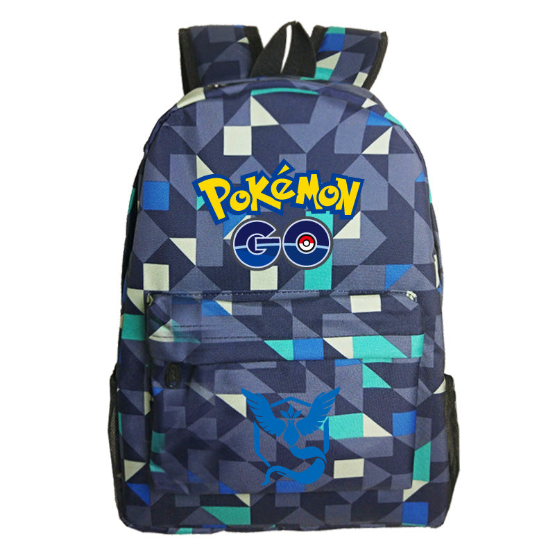 Cool Pokemon Print Backpack