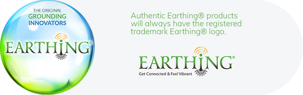 Authentic Earthing products will always have the registered trademark Earthing logo