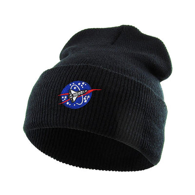 spaceship-embroidered-beanie-cap