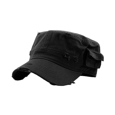 distressed-army-cadet-fitted-dad-hat