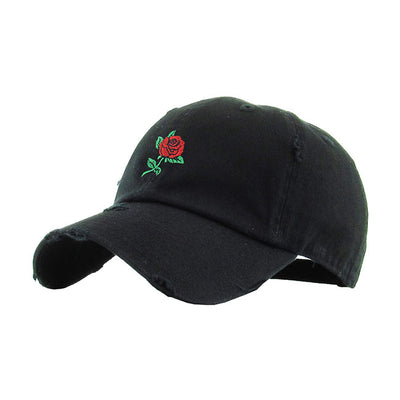 rose-embroidery-vintage-dad-hat
