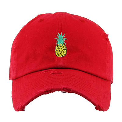 pineapple-vintage-dad-hat
