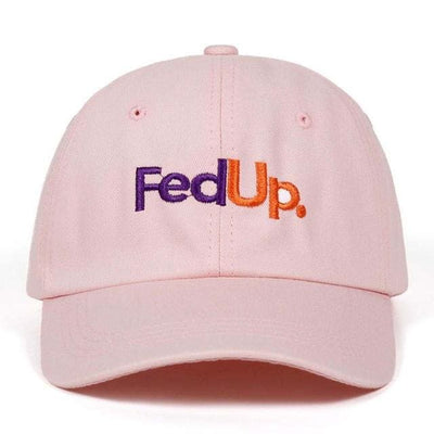 FedUP Dad Hat - Pink - Dad Hats