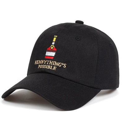 Hennythings Possible Dad Hat - Black - Dad Hats
