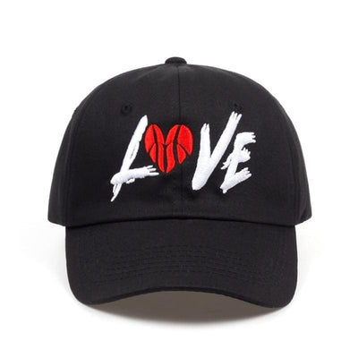 Love Basketball Dad Hat - Dad Hats