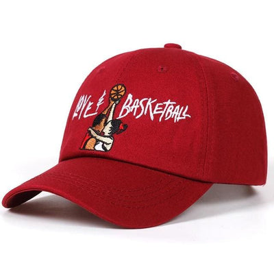 Love & Basketball Dad Hat - wine red - Dad Hats