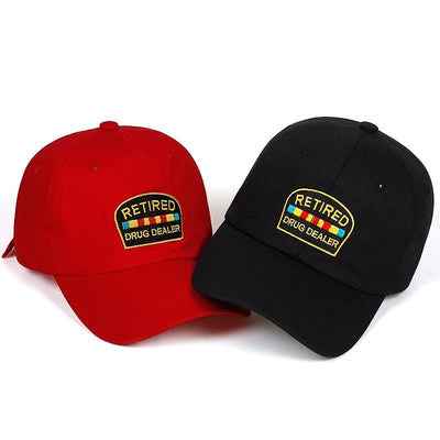 Retired Drug Dealer Dad Hat - Dad Hats