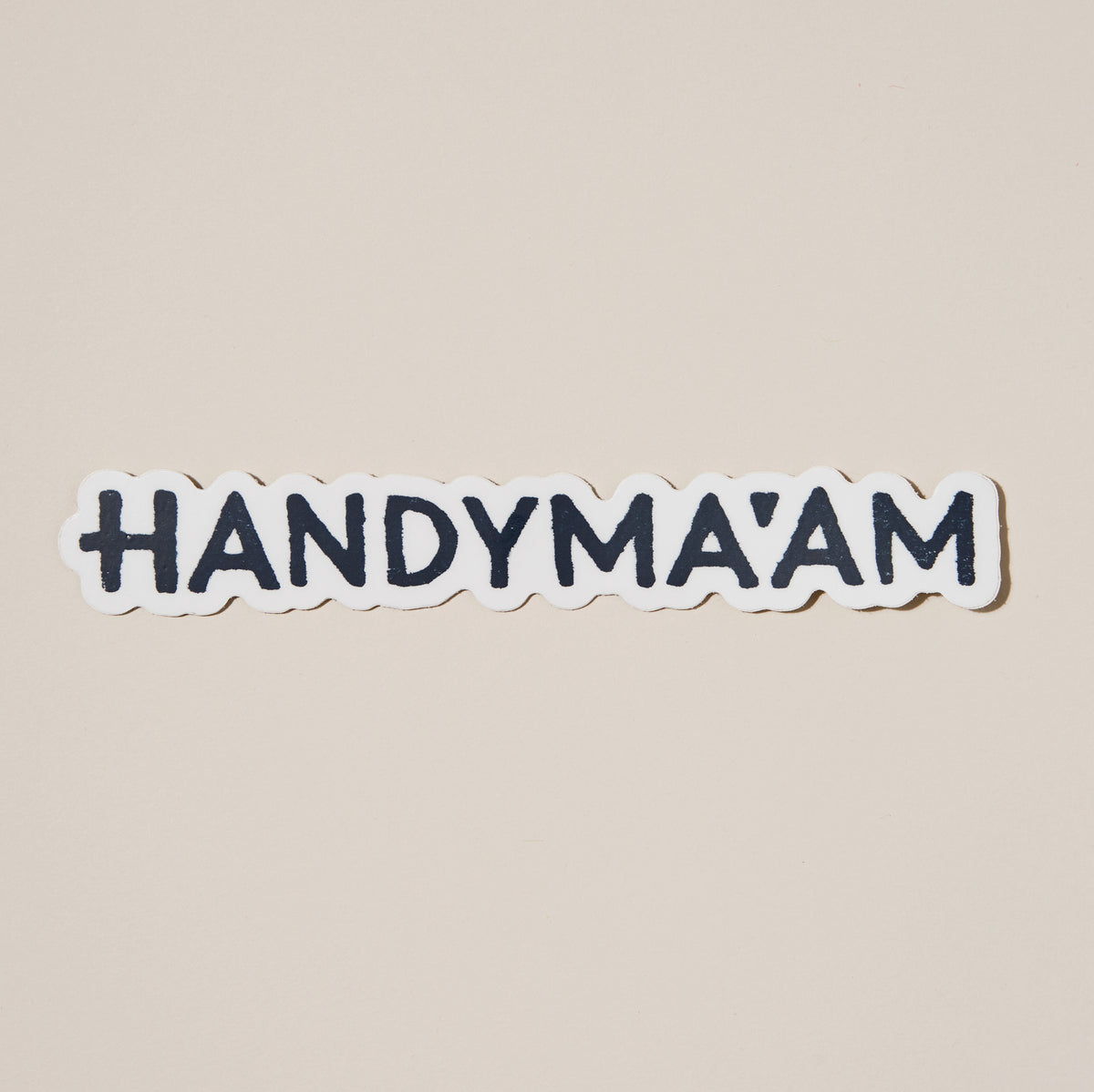 Handyma'am Sticker
