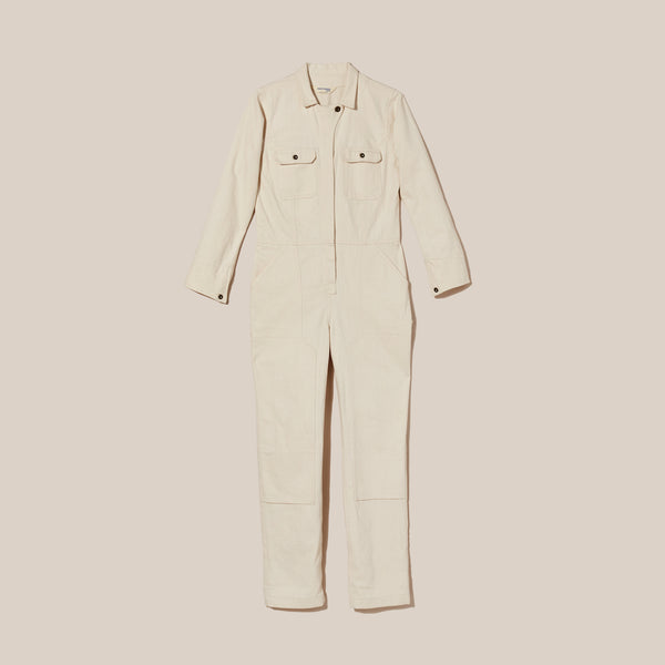 Natural Twill Coveralls