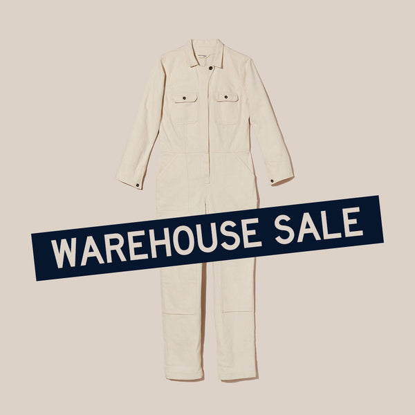 Warehouse Sale - Natural Coveralls