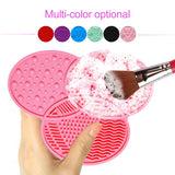 Brush Cleaning Mat Silicone Makeup Cleaning Mat