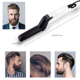 Multifunctional Electric Hair Comb Brush Beard Straightener