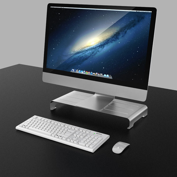 Aluminum Alloy Bracket Computer Monitor Stand Base Anti-slip