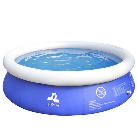 The Original Easy Set Outdoor Swimming Inflatable Ring  Pool