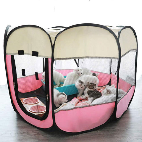 Portable Folding Pet Kennel or Play Pen