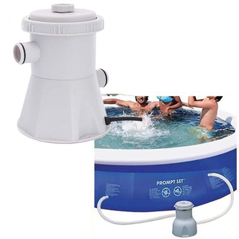 Electric Reusable Swimming Pool Filter Pump Water Filter