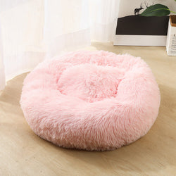 Pet Round Plush Cat Bed Matress