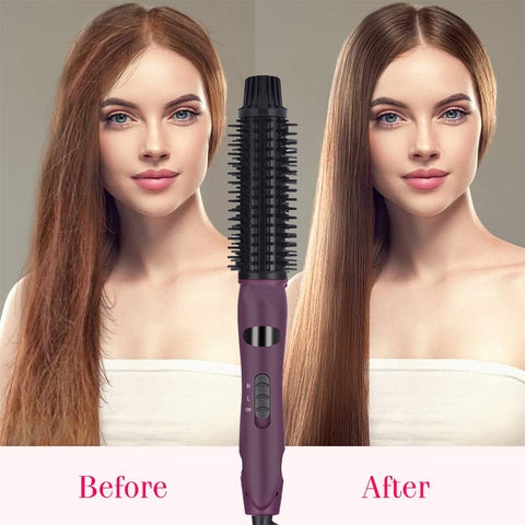 2 in 1 Ceramic In Styler Ionic Styler Hair Straightener & Curling Iron