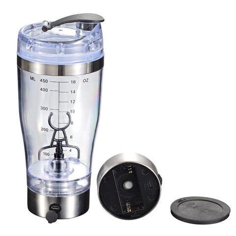 450 ML USB Blender Protein Shaker Bottle Automatic Vortex Mixer