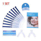1 set Dental Bleaching System with Gel Kit and LED Light