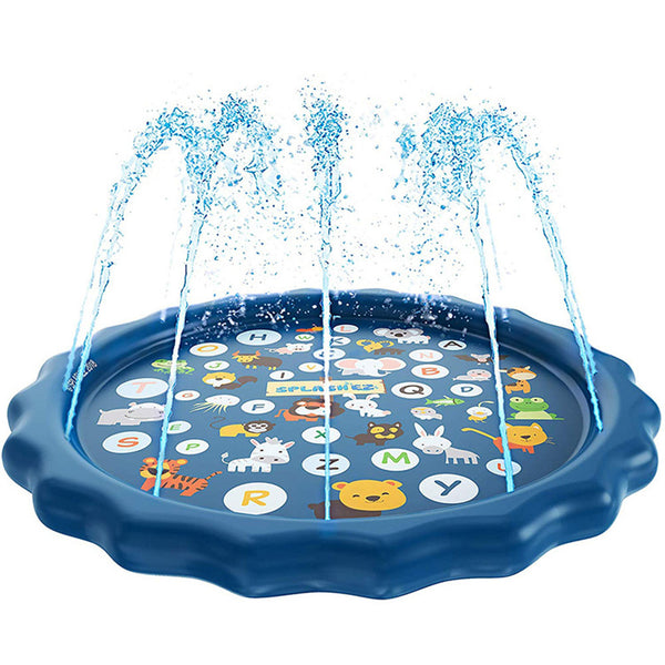 3-in-1 Outdoor Sprinkler for Kids Inflatable Splash Pad