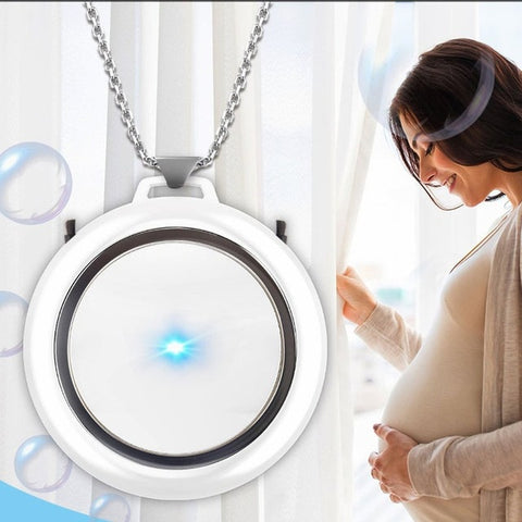 Rechargeable Wearable Personal Portable Air Purifier