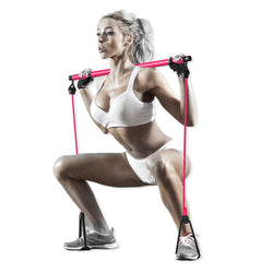Portable Pilates Bar Resistance Stick