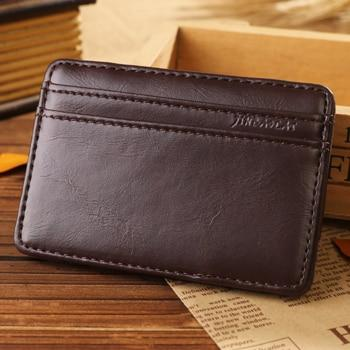 Jino Men's Leather Card Holder