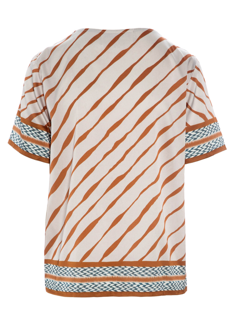 MANON TEE Ink Stripe