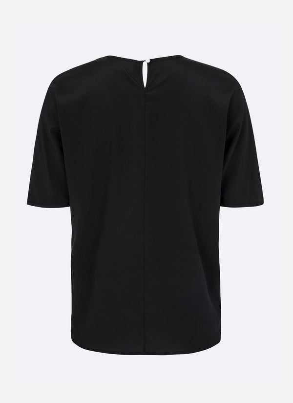MAURI BLOUSE, BLACK