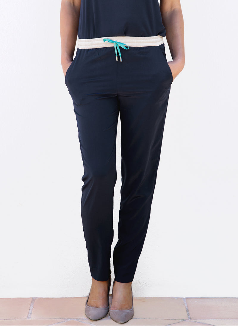 EITHNE PANTS, Colour block