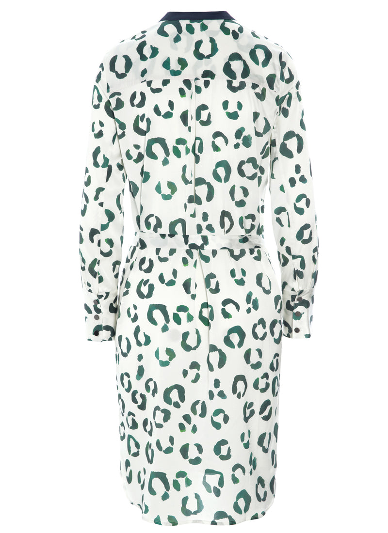 ELODIE TUNIC DRESS Aquarelle Leopard