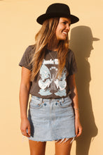 Load image into Gallery viewer, Suede Daze Festival Tee - Charcoal