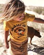 Load image into Gallery viewer, CHASE THE SUN TEE - MUSTARD