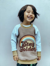 Load image into Gallery viewer, Stay Golden Jumper - Mocha