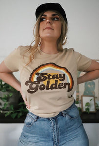 Stay Golden - Tan