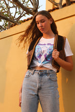 Load image into Gallery viewer, Suede Daze Festival Tee - White