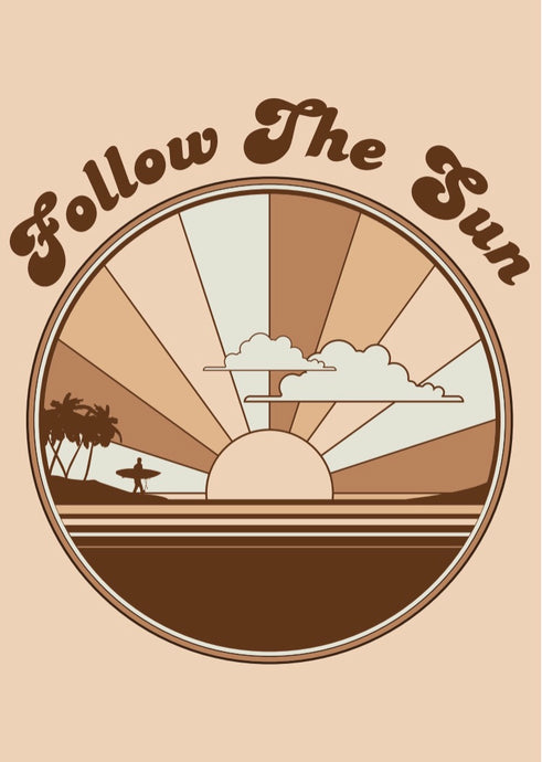 Follow the Sun - Wall Art