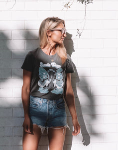 Suede Daze Festival Tee - Charcoal