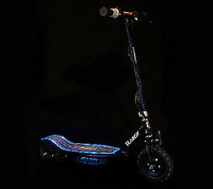 Razor E100 Electric Scooter Glow Black - Noisette Place