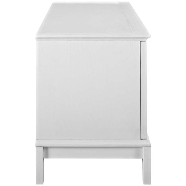 "ISLE 47"" TV STAND IN WHITE - Noisette Place"