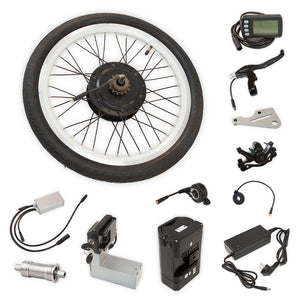E-KIT WITH THE CENTRAL MOTOR FOR TAGA CARGO BIKE - Noisette Place