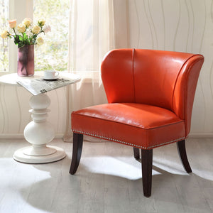 Hilton Armless Accent Chair - Noisette Place