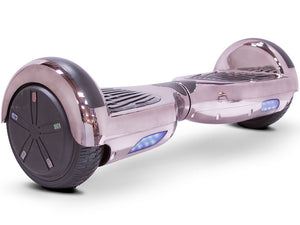 MotoTec Self Balancing Scooter 24v 6.5in Chrome