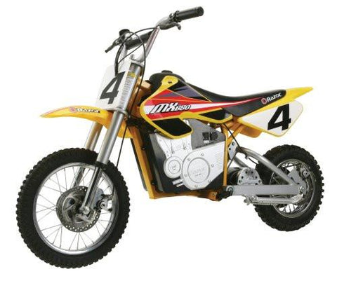 Razor Adult Dirt Rocket MX650 Dirt Bike - Noisette Place