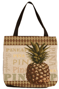 PINEAPPLE TAPESTRY TOTE BAG - Noisette Place